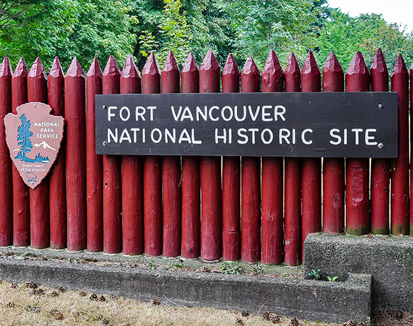 Fort Vancouver National Historic Site at Washington